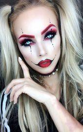 [25+] Glam Squad Halloween Makeup - Holidays: Halloween - #glam #Halloween #HOLI...