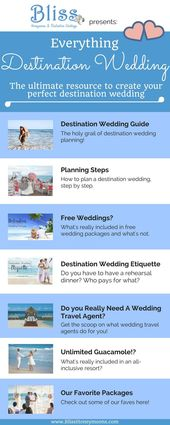 Diese Everything Destination Wedding-Kollektion ist die ultimative Ressource, um … destination wedding cost