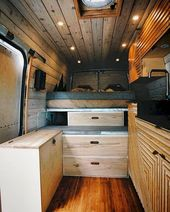 The Perfect Way Campervan Interior Design Ideas (28