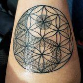 105+ Coole Blume des Lebens Tattoo-Ideen – Das geometrische Muster, das die Geheimnisse hält – Tattoo ideen