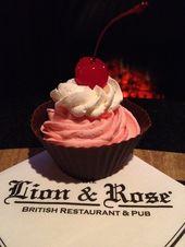 Cherry Cordial Pudding Shot Vanille-Pudding aus der kleinen Schachtel 8 oz schwere Schlagsahne …