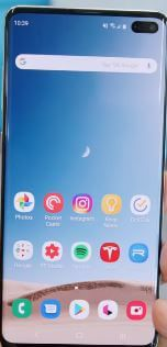 How To Change Screen Mode On Samsung Galaxy S10 Plus Bestusefultips Lock Apps Party Apps App