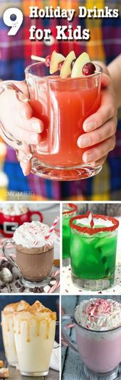 41 Trendy holiday drinks nonalcoholic new years   – [Holiday] – #Drinks #Holiday…   – Drinkss