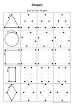 Shapes & Colors Printable Worksheet | Worksheets, Google search ...