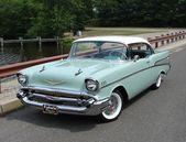 1957 Chevy Bel Air – Es ist eine sichere Wette, dass die heutigen Autos fast 7 sind   – alte Autos