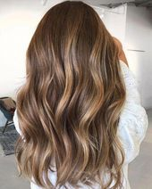37 Beautiful Ideas To Freshen Up Your Hair Color With Highlights, brown hair ,ba…