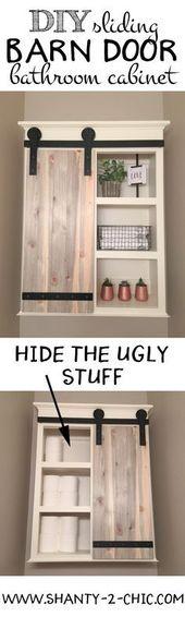 25 tolle DIY Projekte für Ihr Badezimmer