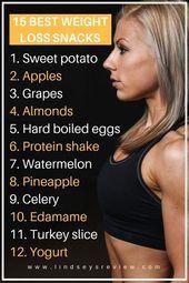 15 besten Snacks zum Abnehmen