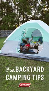 Backyard Campout. | In Honor Of Design