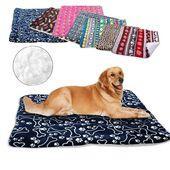 Invierno #Perro #Cama #Blanket #Soft #Fleece #Pet #Durmiendo #Cama #Cubierta #Mats #Cálido #Sofa #Cojín …   – Bed Cover