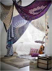 Bedroom Decoration Ideas 2018: Boho style design and colors