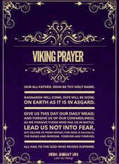 Viking Blessing #norsemythology Have Courage & Be Fearless