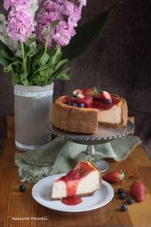 New York Cheesecake – The Cook Inside