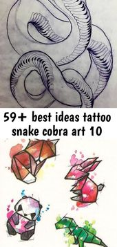 59+ best ideas tattoo snake cobra art 10