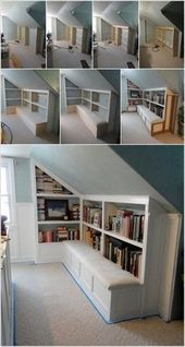 35+ Pfiffig Use of Attic Room Gestaltung and Remodel Ideas