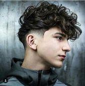Trendy hairstyles men medium shaved sides 64 Ideas