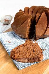 Samtiger Schokoladen Buttermilch Gugelhupf