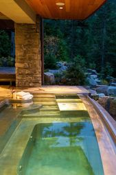 30 Outdoor Spas And Hot Tubs You Deserve Outdoor Spa Swimming Pool Designs Cool Swimming Pools