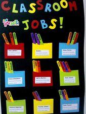 افكار لوحة تعزيز السلوك الايجابي للطلاب لوحات تعزيز سلوك الطالب بالعربي نتعلم Diy Classroom Decorations Diy Classroom Classroom Jobs