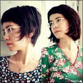 10+ Kurze Damen Frisuren für die Neujahrsmode #haare #haarschnitte #frisuren #kurze #kurzehaa… –