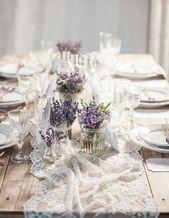 Un mariage champêtre en 20 idées déco – Elle Décoration