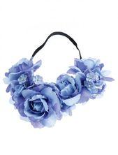 Flower Hairband (Blue) – Festival – #Blue #Flower Hairband #Festival