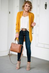 45 Elegant Fall Outfits Ideas You Should Try – #aw…