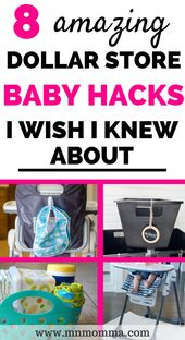 8 Must See Dollar Store Hacks (Every Parent Should Know!)