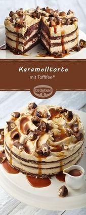Bolo de caramelo com Toffifee®   – Torten und Kuchen