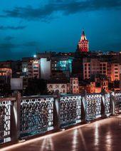 Galata Tower & Galata Bridge in İstanbul by Aytek… – I wonder.. a lot…