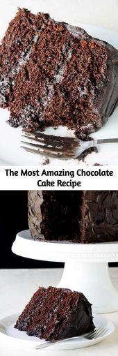 Der erstaunlichste Schokoladenkuchen ist hier. Ich nenne das meine Matilda Torte, weil ich …