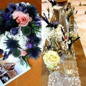 Vintage Hochzeit in Weiß & Lila! Hortensien, Lavendel & Rosmarin … eine tolle …   – hortensien