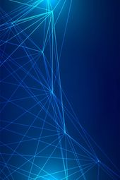 Science And Technology Lines And Blue Background Hd
