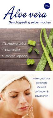 Aloe-vera-Gel: Anwendung für Haut und Haare