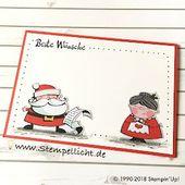 Briefmarkenlicht: Weihnachtskarten Weihnachtswerkstatt mit Gekritzelrand#fashion…