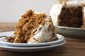 Vegan Carrot Cake with Pineapple & Cream Cheese Frosting