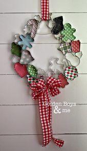 Photo of Kerstkrans: DIY-kerstkransen en hangers voor vakantiedeuren