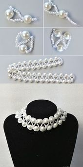 How the pearl necklace? The tutorial is published by LC.Pandahall.c …