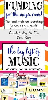 Grant Funding For The Music Room – Education
