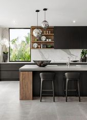 Learn How You Can Improve Your Kitchen Design To Improve Your Healthier Lifestyle #luxurykitchendesigns