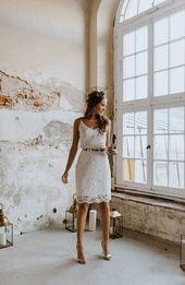 Korta bröllopsklänningar – Labude Brautmode Köln – Nya idéer