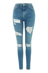 Mid Blue Super Ripped Jamie Jeans – Vibes