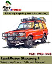 Land Rover Discovery 1 Service Repair Manual 1989 1998 Automotive Service Repair Manual Land Rover Discovery 1 Land Rover Land Rover Discovery