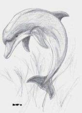 Dolphin – # – #DrawingsPencil Ballerina #DrawingsPencil Flowers #DrawingsPencil Disney