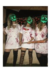 Halloween costume #purge #thepurge #friends