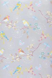 papiers peints imprimables chambre bb papillons porcelaine essayer papiers peints floraux papier peint motifs violettes - Papier Peint Fille