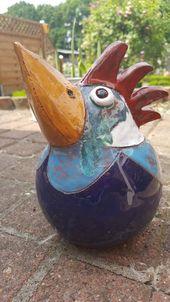 """""""Vogel in der Luft"""" – Ton – #die # Luft # # Vogel # Ton   – Keramische Kunst"""