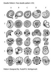 #free doodle pattern #doodle pattern #zendoodle #z…