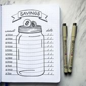 10 Bullet Journal Geldmonitore für das Finanzmanagement – TheFab20s