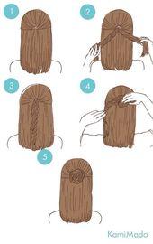 Einfache Frisuren zu Weihnachten – #abiball #einfache #Frisuren #Weihnachten #zu